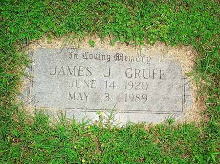 GRUFF, JAMES J. - Benton County, Arkansas | JAMES J. GRUFF - Arkansas Gravestone Photos