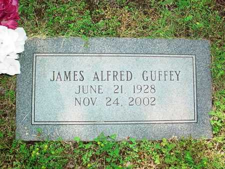GUFFEY, JAMES ALFRED - Benton County, Arkansas | JAMES ALFRED GUFFEY - Arkansas Gravestone Photos