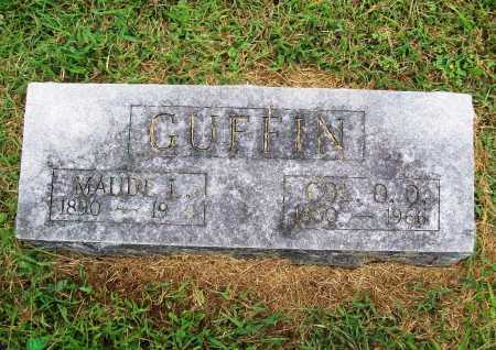 GUFFIN, COL. O. O. - Benton County, Arkansas | COL. O. O. GUFFIN - Arkansas Gravestone Photos
