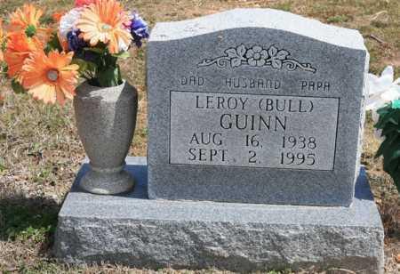 GUINN, LEROY (BULL) - Benton County, Arkansas | LEROY (BULL) GUINN - Arkansas Gravestone Photos