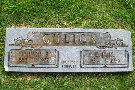 GULICK, C. PURL - Benton County, Arkansas | C. PURL GULICK - Arkansas Gravestone Photos