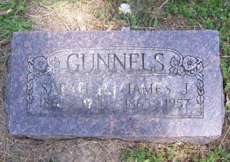 GUNNELS, JAMES JACKSON - Benton County, Arkansas | JAMES JACKSON GUNNELS - Arkansas Gravestone Photos