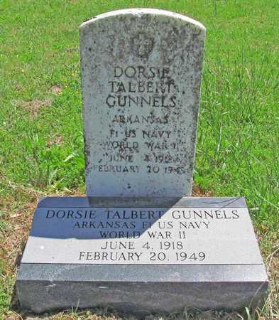 GUNNELS (VETERAN WWII), DORSIE TALBERT - Benton County, Arkansas | DORSIE TALBERT GUNNELS (VETERAN WWII) - Arkansas Gravestone Photos
