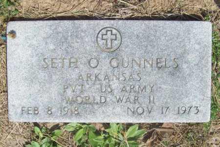 GUNNELS (VETERAN WWII), SETH O - Benton County, Arkansas | SETH O GUNNELS (VETERAN WWII) - Arkansas Gravestone Photos