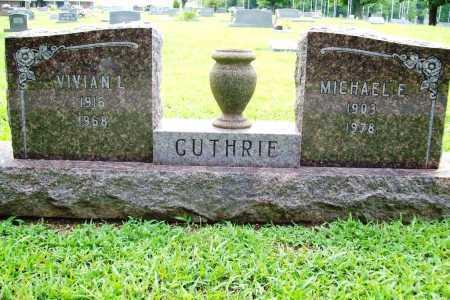 GUTHRIE, VIVIAN L. - Benton County, Arkansas | VIVIAN L. GUTHRIE - Arkansas Gravestone Photos