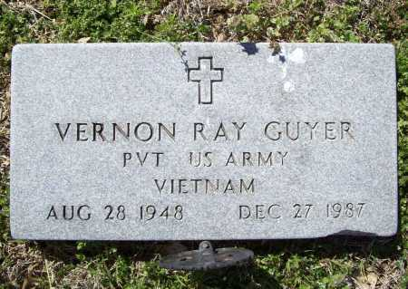 GUYER (VETERAN VIET), VERNON RAY - Benton County, Arkansas | VERNON RAY GUYER (VETERAN VIET) - Arkansas Gravestone Photos