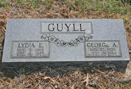 GUYLL, GEORGE ALVIN - Benton County, Arkansas | GEORGE ALVIN GUYLL - Arkansas Gravestone Photos