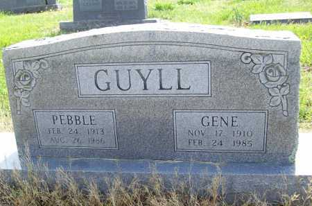 SNODERLY GUYLL, PEBBLE - Benton County, Arkansas | PEBBLE SNODERLY GUYLL - Arkansas Gravestone Photos