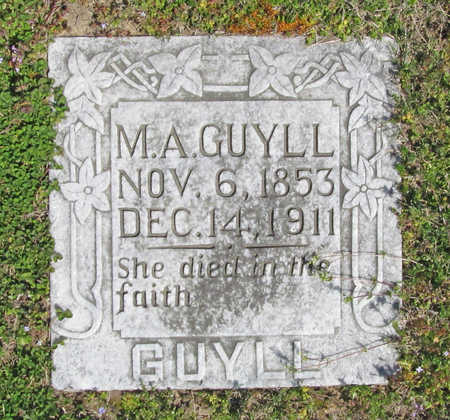 GUYLL, MARTHA A (ORIGINAL) - Benton County, Arkansas | MARTHA A (ORIGINAL) GUYLL - Arkansas Gravestone Photos