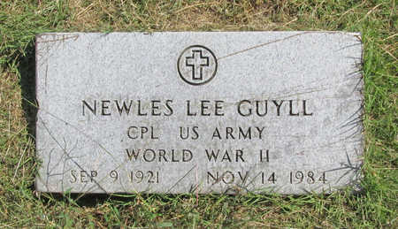 GUYLL (VETERAN WWII), NEWLES LEE - Benton County, Arkansas | NEWLES LEE GUYLL (VETERAN WWII) - Arkansas Gravestone Photos