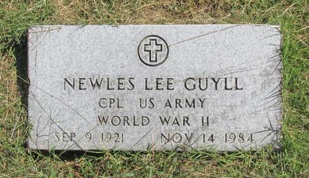GUYLL (VETERAN WWII), NEWLES LEE - Benton County, Arkansas | NEWLES LEE GUYLL (VETERAN WWII) - Arkansas Gravestone Photos