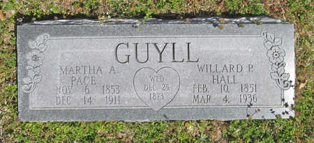 PACE GUYLL, MARTHA A - Benton County, Arkansas | MARTHA A PACE GUYLL - Arkansas Gravestone Photos