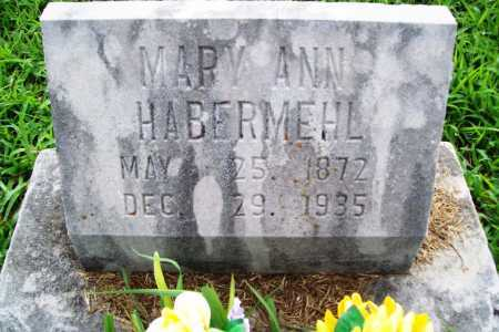 HABERMEHL, MARY ANN - Benton County, Arkansas | MARY ANN HABERMEHL - Arkansas Gravestone Photos