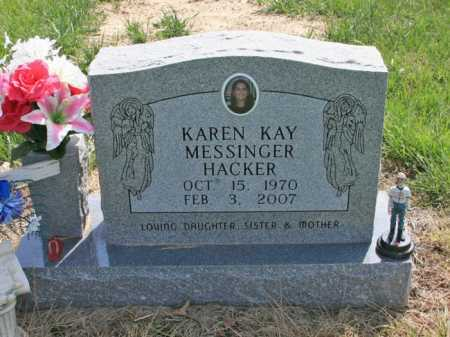 HACKER, KAREN KAY - Benton County, Arkansas | KAREN KAY HACKER - Arkansas Gravestone Photos