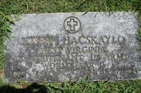 HACSKAYLO (VETERAN WWII), JOSEPH - Benton County, Arkansas | JOSEPH HACSKAYLO (VETERAN WWII) - Arkansas Gravestone Photos