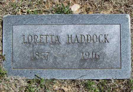 HADDOCK, LORETTA - Benton County, Arkansas | LORETTA HADDOCK - Arkansas Gravestone Photos