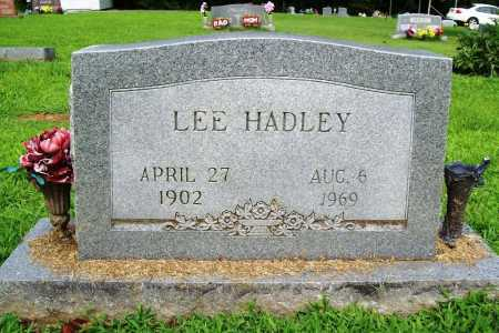 HADLEY, LEE - Benton County, Arkansas | LEE HADLEY - Arkansas Gravestone Photos
