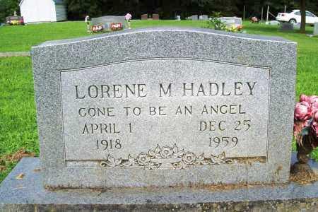 HADLEY, LORENE M. - Benton County, Arkansas | LORENE M. HADLEY - Arkansas Gravestone Photos