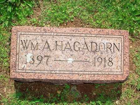 HAGADORN, WILLIAM A. - Benton County, Arkansas | WILLIAM A. HAGADORN - Arkansas Gravestone Photos