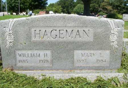 HAGEMAN, WILLIAM H. - Benton County, Arkansas | WILLIAM H. HAGEMAN - Arkansas Gravestone Photos