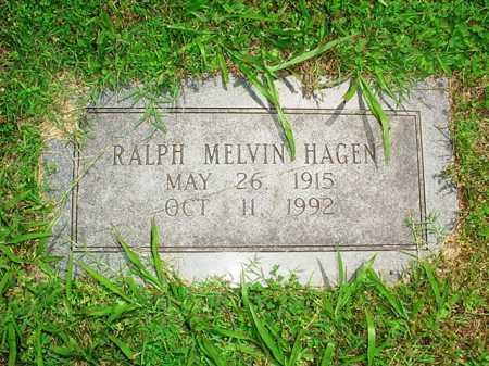 HAGEN, RALPH MELVIN - Benton County, Arkansas | RALPH MELVIN HAGEN - Arkansas Gravestone Photos