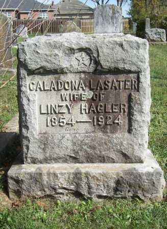 LASATER HAGLER, CALADONA - Benton County, Arkansas | CALADONA LASATER HAGLER - Arkansas Gravestone Photos