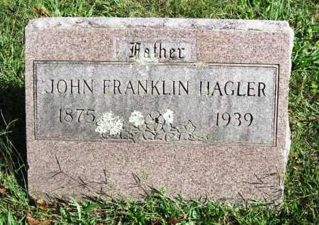HAGLER, JOHN FRANKLIN - Benton County, Arkansas | JOHN FRANKLIN HAGLER - Arkansas Gravestone Photos