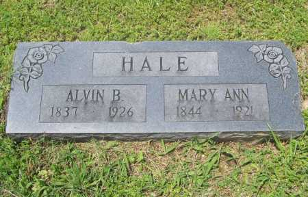 HALE, MARY ANN - Benton County, Arkansas | MARY ANN HALE - Arkansas Gravestone Photos