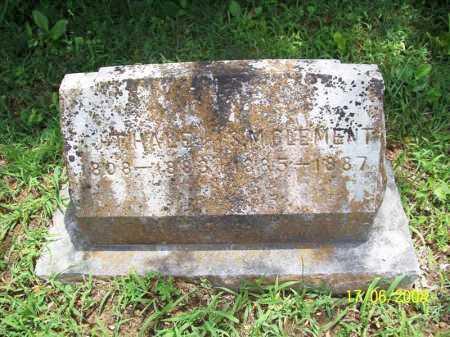 CLEMENT, S. M. - Benton County, Arkansas | S. M. CLEMENT - Arkansas Gravestone Photos