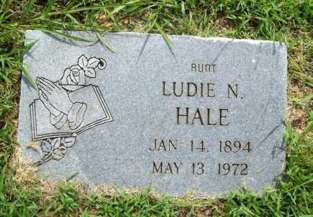HALE, LUDIE N. - Benton County, Arkansas | LUDIE N. HALE - Arkansas Gravestone Photos