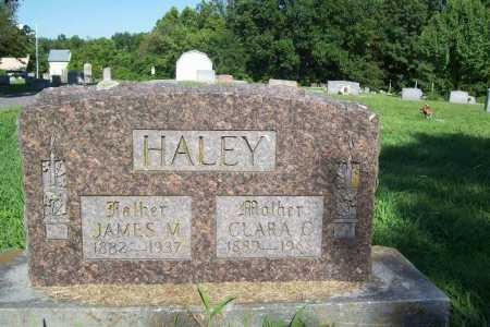 HALEY, JAMES M. - Benton County, Arkansas | JAMES M. HALEY - Arkansas Gravestone Photos