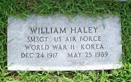 HALEY (VETERAN 2 WARS), WILLIAM - Benton County, Arkansas | WILLIAM HALEY (VETERAN 2 WARS) - Arkansas Gravestone Photos