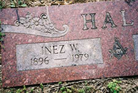 HALL, INEZ W. - Benton County, Arkansas | INEZ W. HALL - Arkansas Gravestone Photos