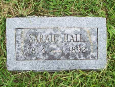 HALL, SARAH - Benton County, Arkansas | SARAH HALL - Arkansas Gravestone Photos