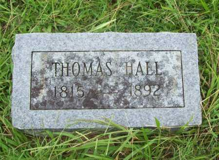 HALL, THOMAS - Benton County, Arkansas | THOMAS HALL - Arkansas Gravestone Photos
