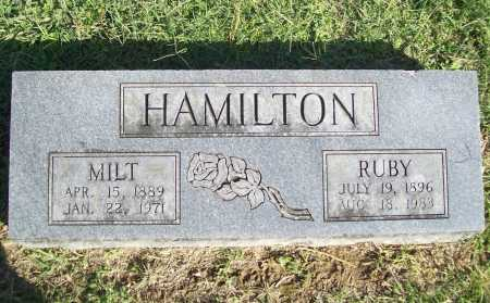 HAMILTON, RUBY - Benton County, Arkansas | RUBY HAMILTON - Arkansas Gravestone Photos