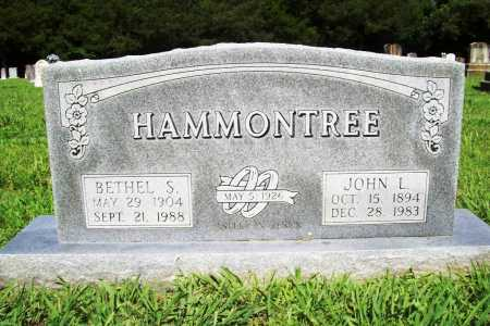 HAMMONTREE, JOHN L. - Benton County, Arkansas | JOHN L. HAMMONTREE - Arkansas Gravestone Photos