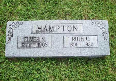 HAMPTON, ELMER NEWTON - Benton County, Arkansas | ELMER NEWTON HAMPTON - Arkansas Gravestone Photos
