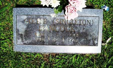ASHER SINGLETO, GOLDIE FLORENCE - Benton County, Arkansas | GOLDIE FLORENCE ASHER SINGLETO - Arkansas Gravestone Photos