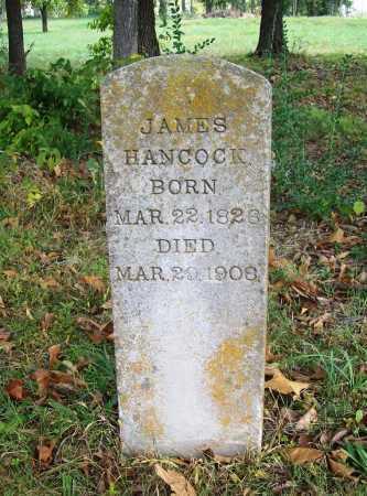 HANCOCK, JAMES - Benton County, Arkansas | JAMES HANCOCK - Arkansas Gravestone Photos