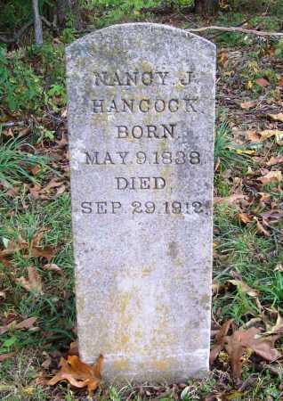 HANCOCK, NANCY JANE - Benton County, Arkansas | NANCY JANE HANCOCK - Arkansas Gravestone Photos