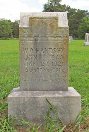 HANDSHY, WILLIAM O - Benton County, Arkansas | WILLIAM O HANDSHY - Arkansas Gravestone Photos