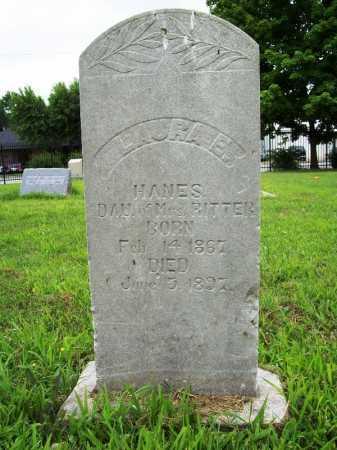 RITTER HANES, LAURA E. - Benton County, Arkansas | LAURA E. RITTER HANES - Arkansas Gravestone Photos
