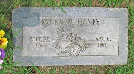 HANEY, FANNY MELISSA - Benton County, Arkansas | FANNY MELISSA HANEY - Arkansas Gravestone Photos