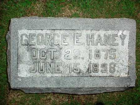 HANEY, GEORGE E. - Benton County, Arkansas | GEORGE E. HANEY - Arkansas Gravestone Photos