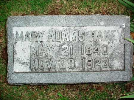 ADAMS HANEY, MARY - Benton County, Arkansas | MARY ADAMS HANEY - Arkansas Gravestone Photos
