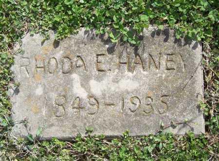 HANEY, RHODA E. - Benton County, Arkansas | RHODA E. HANEY - Arkansas Gravestone Photos