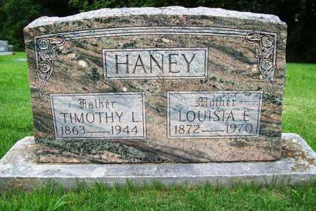 HANEY, LOUISIA E. - Benton County, Arkansas | LOUISIA E. HANEY - Arkansas Gravestone Photos