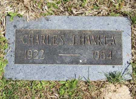 HANKLA, CHARLES J. - Benton County, Arkansas | CHARLES J. HANKLA - Arkansas Gravestone Photos