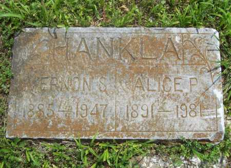 HANKLA, ALICE P. - Benton County, Arkansas | ALICE P. HANKLA - Arkansas Gravestone Photos